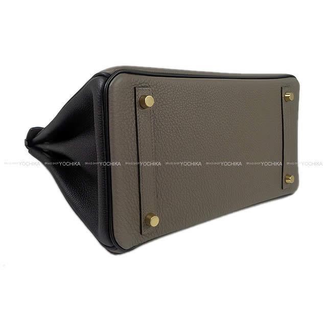 HERMES エルメス ハンドバッグ スペシャルオーダー バーキン30 黒(ブラック)/エタン トゴ マットゴールド金具 新品