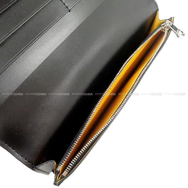 GOYARD ゴヤール ''リシュリュー'' 二つ折り 長財布 黒Xイエロー PVCコーティングレザー APM20501 新品