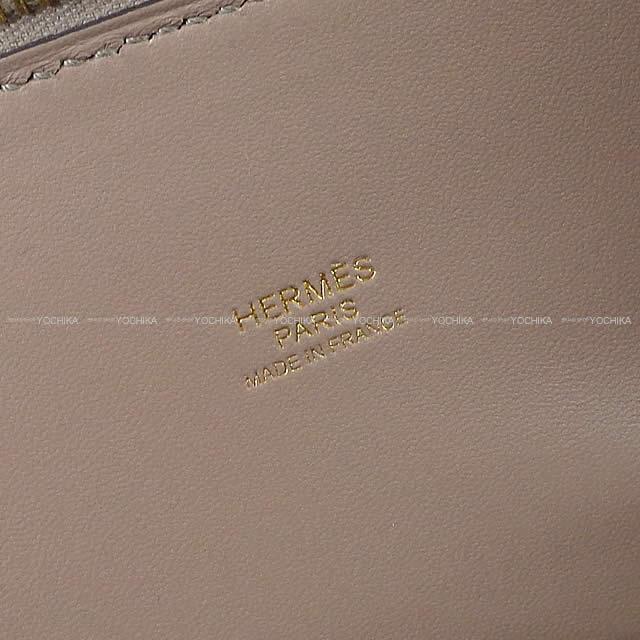 HERMES エルメス ショルダーバッグ ボリード27 グリアスファルト エプソン ゴールド金具 新品