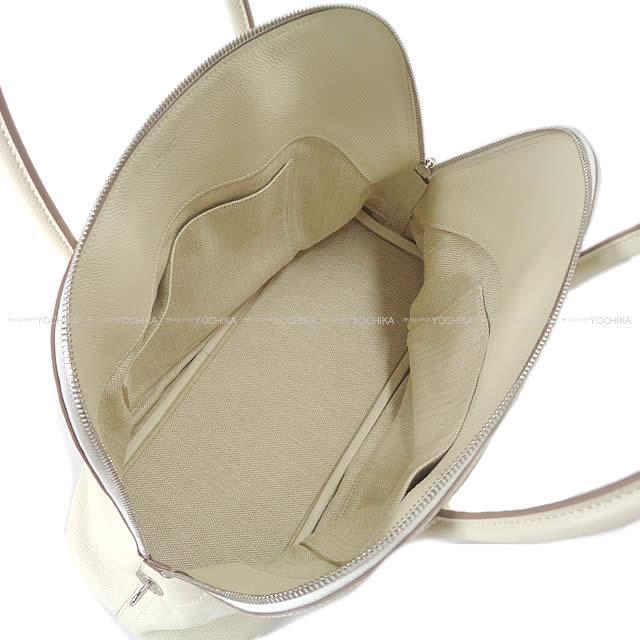 HERMES エルメス ハンドバッグ ボリードリラックス35 クレ エプソン シルバー金具 新品未使用