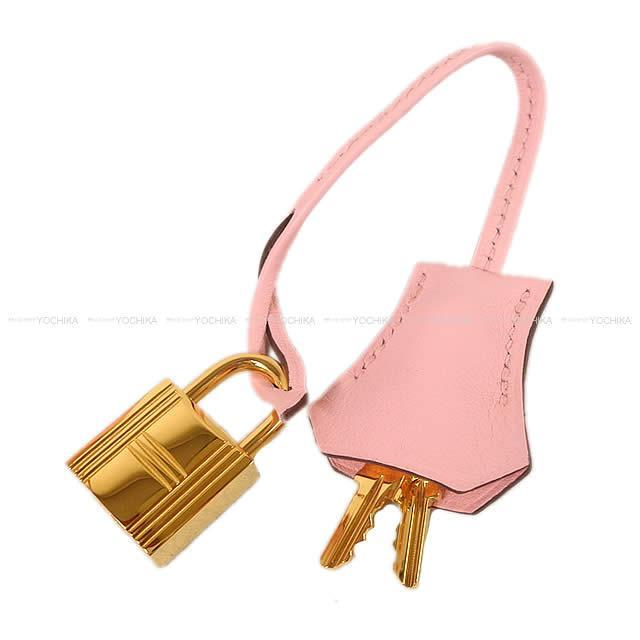 HERMES エルメス ハンドバッグ ケリー25 内縫い ローズサクラ スイフト ゴールド金具 展示新品