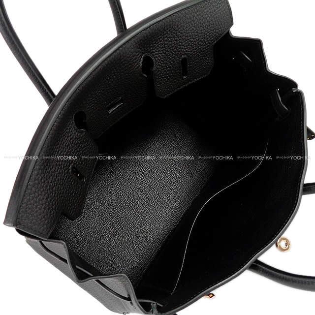 バーキン25 黒(ブラック) トゴ SHW