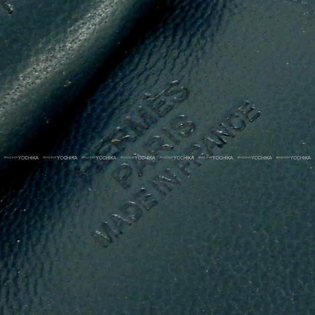 "HERMES エルメス バッグチャーム ""ロデオ/RODEO"" MM 黒 アニューミロ(ラム) 新品"