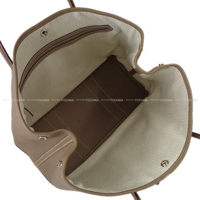 HERMES エルメス トートバッグ ガーデンパーティ 36 PM エトープ (エトゥープ) ネゴンダ C刻印 新品