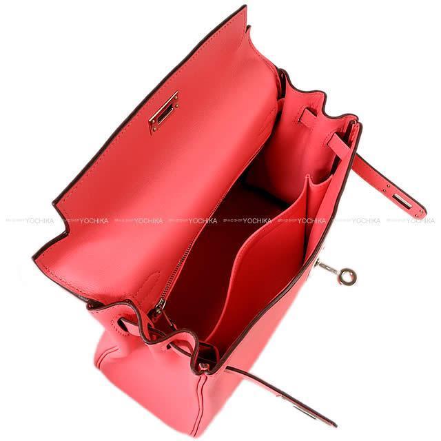 HERMES エルメス ハンドバッグ ケリー25 内縫い ローズアザレ スイフト ゴールド金具 新品