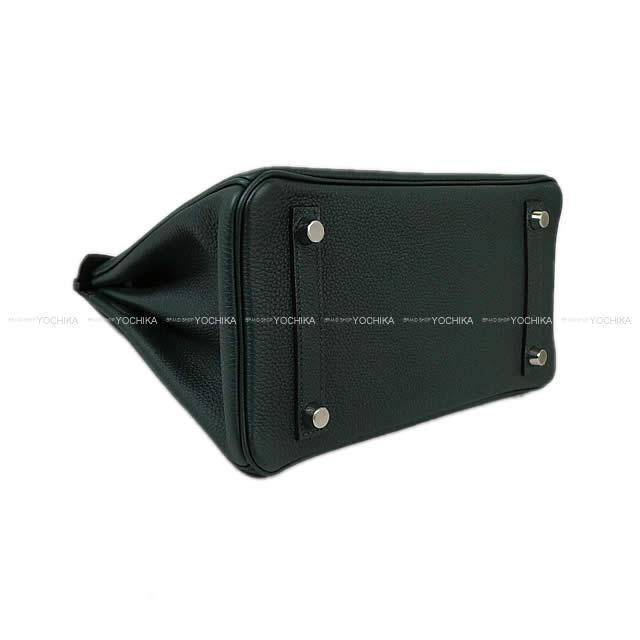 HERMES エルメス ハンドバッグ バーキン25 ヴェールシプレ(サイプレス) トゴ シルバー金具 新品未使用