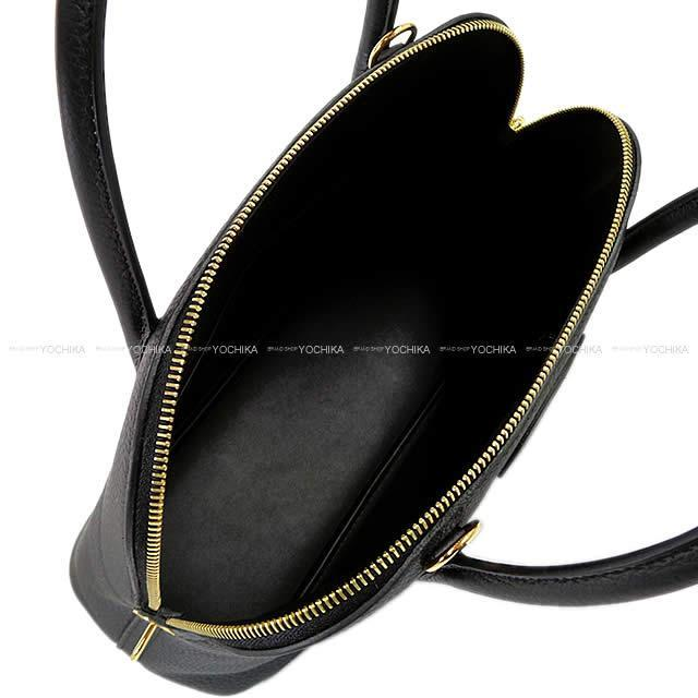 HERMES エルメス ハンドバッグ ボリード31 黒(ブラック) トリヨン ゴールド金具 新品