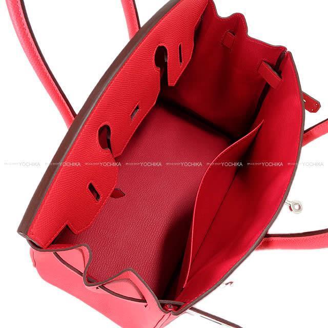 HERMES エルメス ハンドバッグ バーキン30 ローズエクストリーム(ローズエクストリーム) エプソン シルバー金具 新品