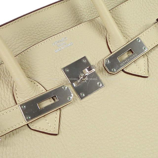 HERMES エルメス ハンドバッグ バーキン35 パシュマン トリヨン シルバー金具 新品未使用