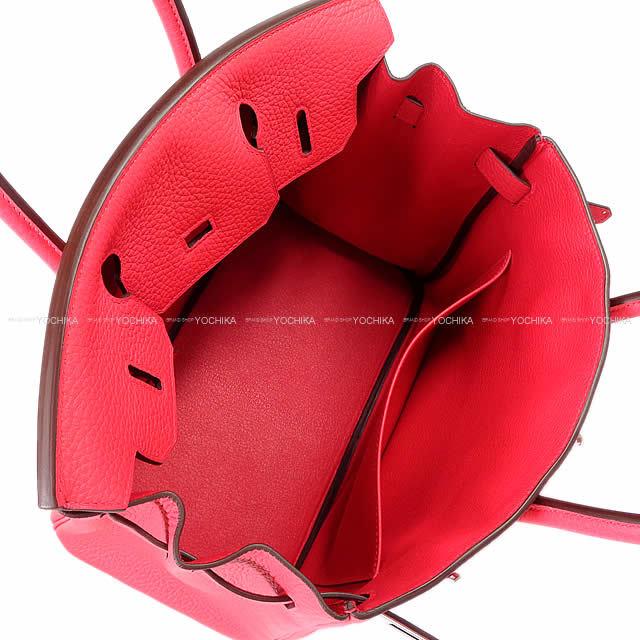 HERMES エルメス ハンドバッグ バーキン30 ローズエクストリーム(ローズエクストリーム) トリヨン シルバー金具 新品