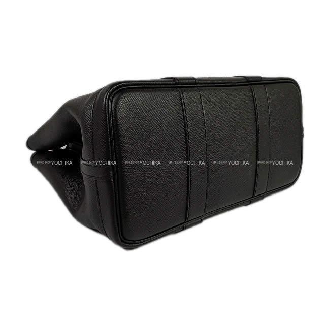 HERMES エルメス ガーデンパーティ 30 TPM 黒(ブラック) エプソン シルバー金具 新品未使用