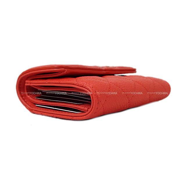 CHANEL シャネル フィグリー マトラッセ ビックココ フラップ 三つ折り 財布 ブーゲンビリア A81941 新品