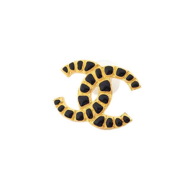 2019年 限定 CHANEL シャネル ビッグココマーク エンボス ピアス ゴールド ゴールド金具 AB1795 新品