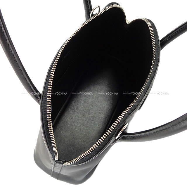HERMES エルメス ショルダーバッグ ボリード27 黒(ブラック) スイフト シルバー金具 新品同様【中古】