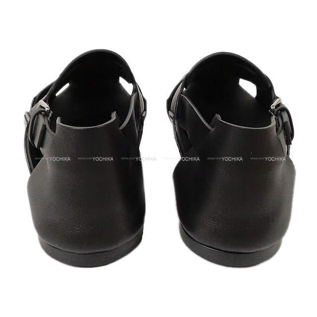 HERMES エルメス メンズ グルカ サンダル #44 黒(ブラック) カーフレザー 181419Z 新品未使用