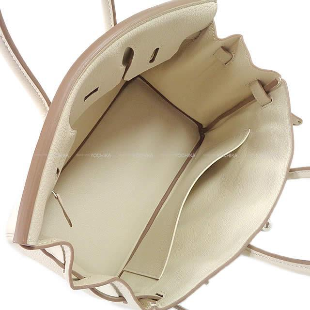 HERMES エルメス ハンドバッグ バーキン25 クレ トゴ シルバー金具 新品未使用