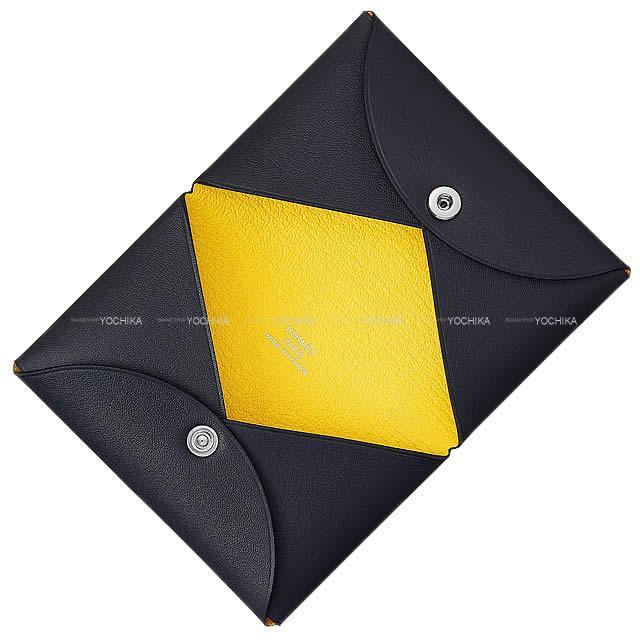 HERMES エルメス カードケース Calvi(カルヴィ) マラカイト クロコダイル アリゲーターマット シルバー金具 新品