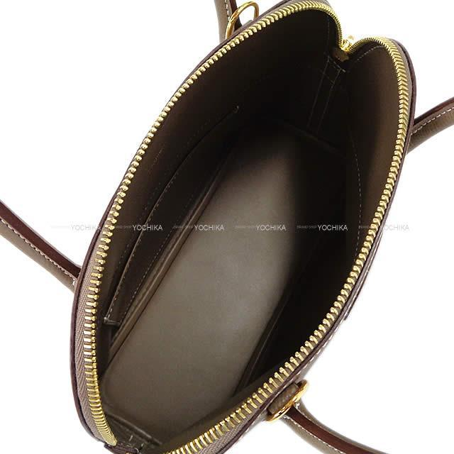 HERMES エルメス ショルダーバッグ ボリード27 エトープ エプソン ゴールド金具 新品