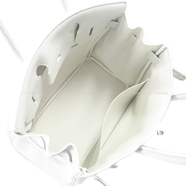 HERMES エルメス ハンドバッグ バーキン30 スペシャルオーダー 白(ホワイト/ブラン) トリヨン シルバー金具 新品