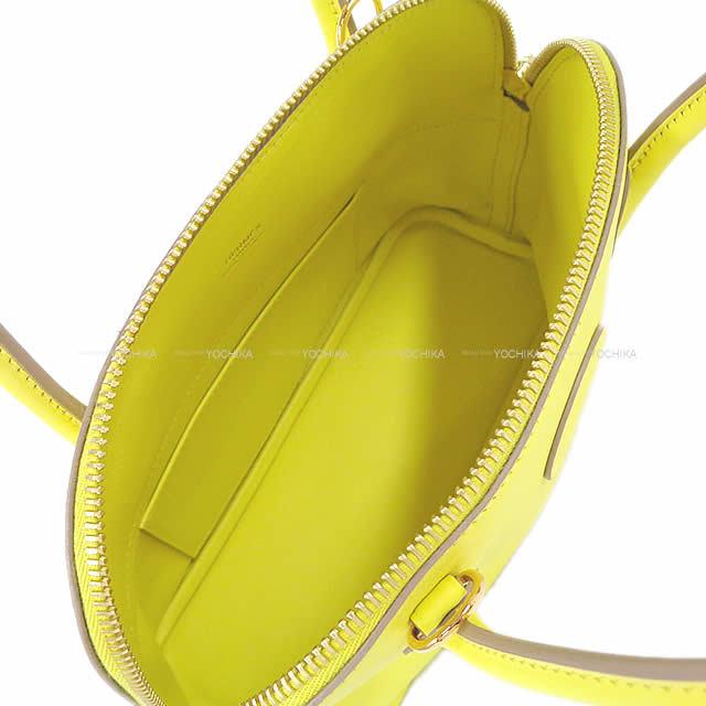 HERMES エルメス ショルダーバッグ ボリード27 ライム スイフト ゴールド金具 新品