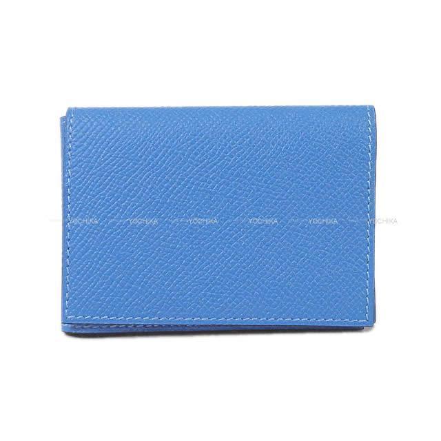HERMES エルメス カードケース ガーンジー PM ブルーパラダイス エプソン 新品未使用