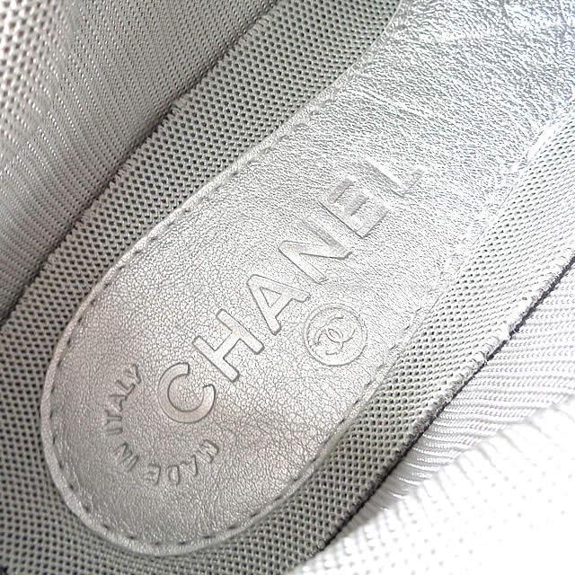 CHANEL シャネル レディース メタリック ダッド スニーカー メタリック #39 G31711 新品未使用