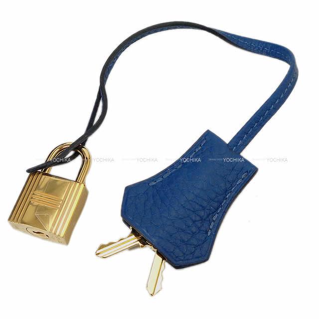 HERMES エルメス ハンドバッグ ボリード31 ディープブルー トリヨン ゴールド金具 新品