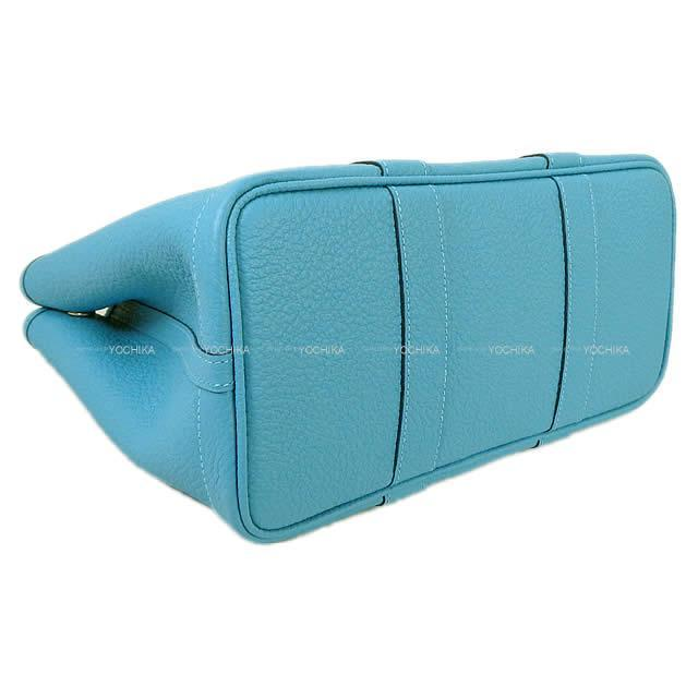 HERMES エルメス トートバッグ ガーデンパーティ 30 TPM レザン ネゴンダ シルバー金具 新品