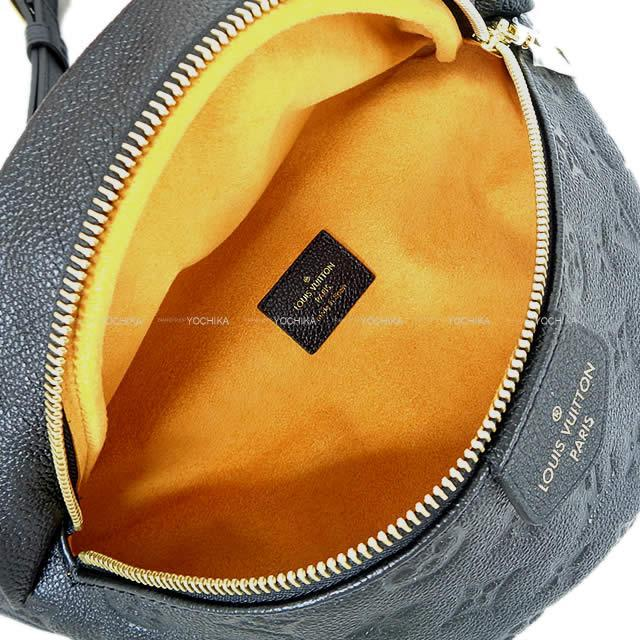 LOUIS VUITTON ルイ・ヴィトン バムバッグ 黒 モノグラム アンプラント ゴールド金具 M44812 新品