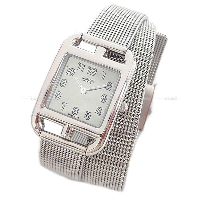 HERMES エルメス レディース 腕時計 ケープコッド PM ステンレススティール 新品