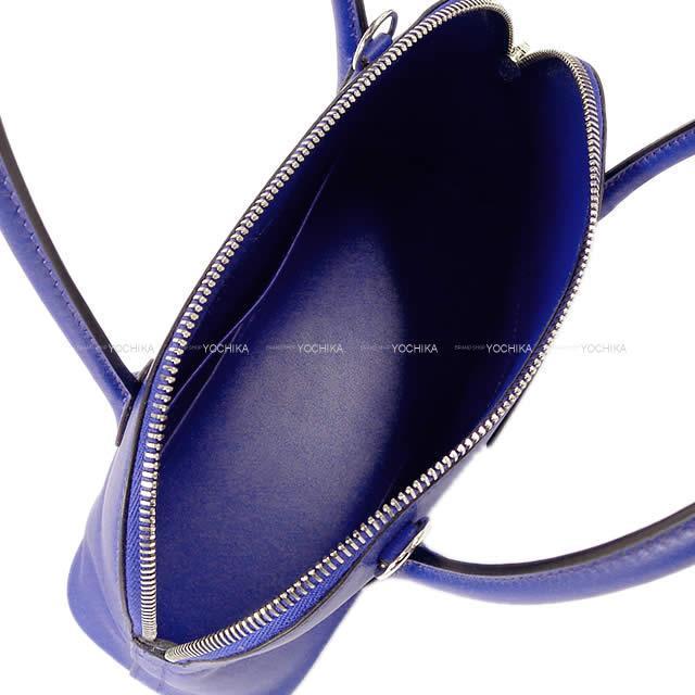 HERMES エルメス ショルダーバッグ ボリード27 ブルーエレクトリック スイフト シルバー金具 新品未使用