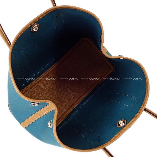 HERMES エルメス ハンドバッグ ガーデンパーティ 30 TPM ヴェールボスフォール/アルザン トワルオフィシェ 新品