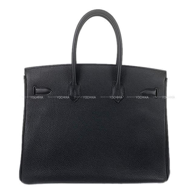 HERMES エルメス ハンドバッグ バーキン35 黒 トゴ ローズゴールド金具 新品未使用
