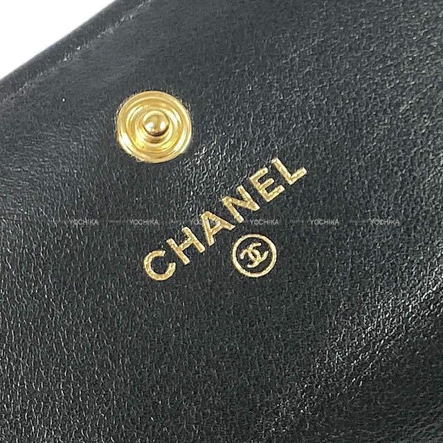CHANEL シャネル 19 チェーン マトラッセ ココマーク フラップ 長財布 黒 AP0955 新品