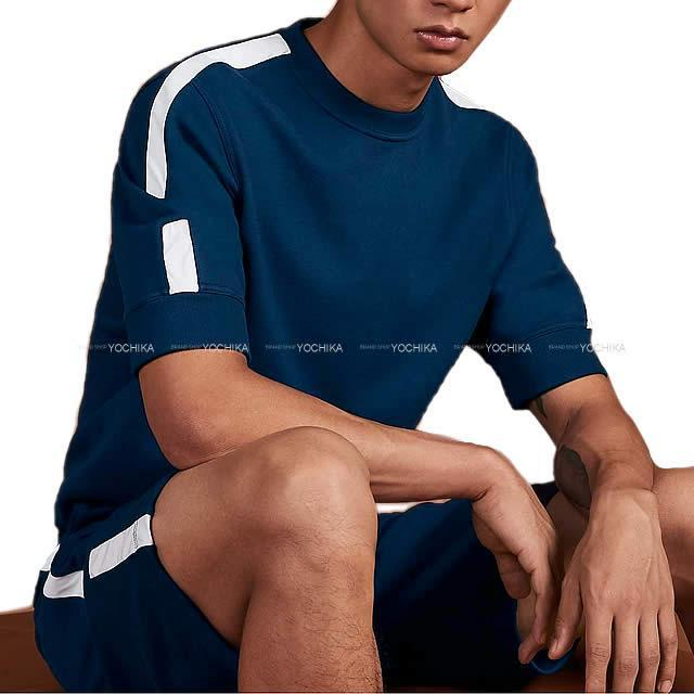 HERMES エルメス メンズ スウェット 半袖 ハーフパンツ 上下セット ジョギング Tシャツ #M 新品