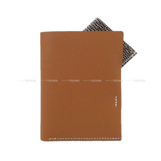 HERMES エルメス 二つ折 コンパクト 財布 シチズン ツイル 「カレキューブ」 黒(ブラック)
