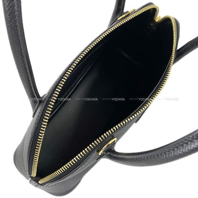 HERMES エルメス ショルダーバッグ ボリード27 黒(ブラック) C刻印 エプソン ゴールド金具 新品同様【中古】