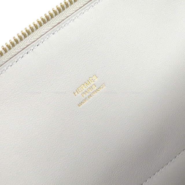 HERMES エルメス ハンドバッグ ボリード31 グリスパール(グリペール/パールグレー) トリヨン ゴールド金具 新品