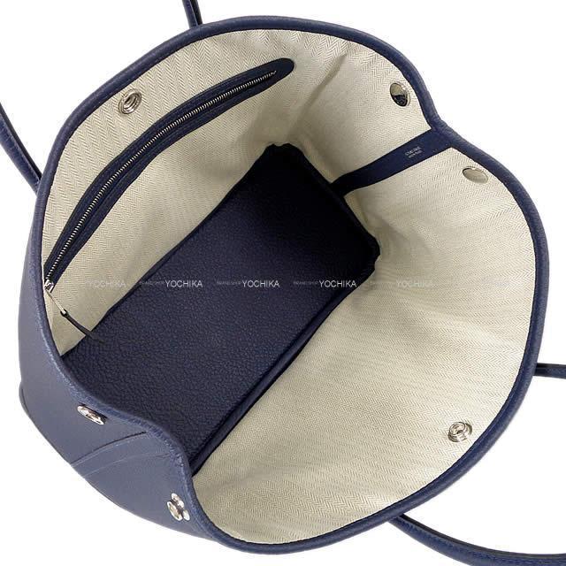 HERMES エルメス トートバッグ ガーデンパーティ 30 TPM ヴェールアマンド ネゴンダ シルバー金具 新品
