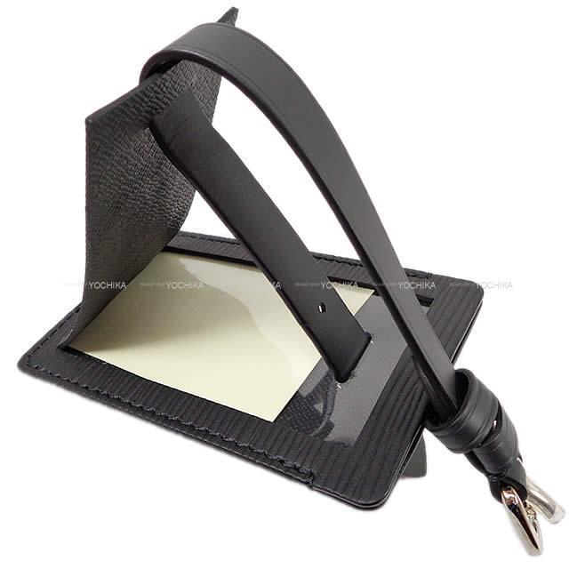 LOUIS VUITTON Supreme ルイ・ヴィトン シュプリーム ネームタグ ノワール(黒) エピ M67726 新品