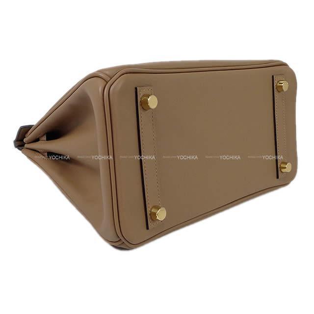 HERMES エルメス ハンドバッグ バーキン25 黒(ブラック) ヴォージョナサン ゴールド金具 新品