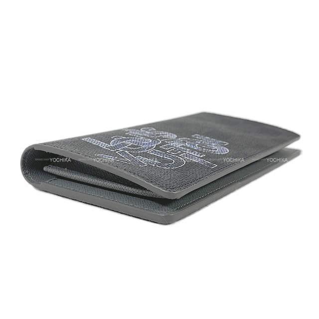 LOUIS VUITTON ルイ・ヴィトン 二つ折 長財布 ポルトフォイユ ブラザ ダミエ・グラフィット シルバー金具 N60326 新品