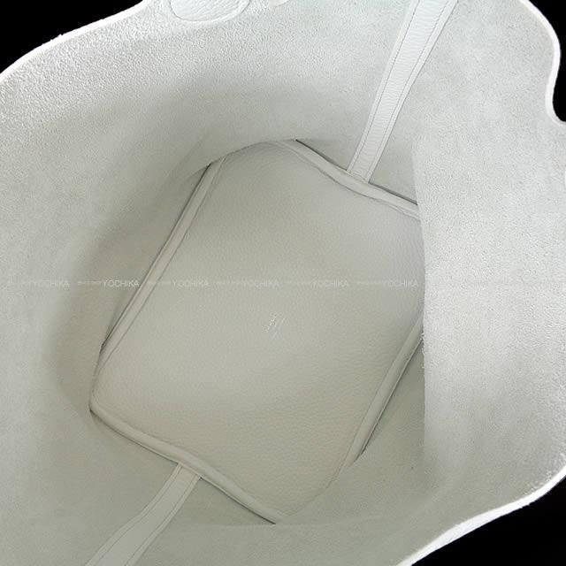 HERMES エルメス ハンドバッグ ピコタンロック 22 MM 白(ホワイト) トリヨン (内側起毛) ゴールド金具 新品