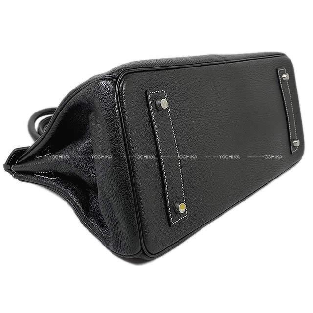 エルメス ハンドバッグ ショルダーバーキン42 スペシャルオーダー グラファイト コロマンデル  SAランク【中古】