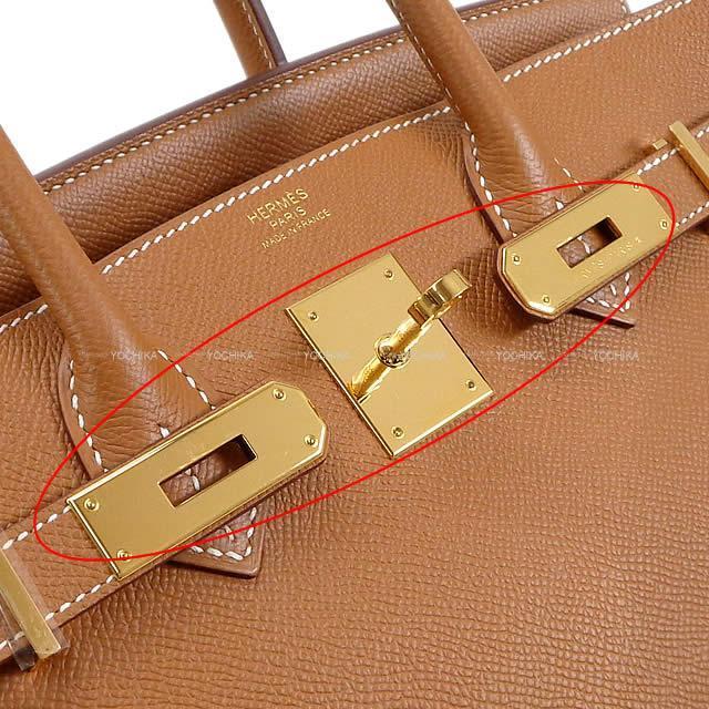 HERMES エルメス ハンドバッグ バーキン30 ゴールド エプソン ゴールド金具 展示新品