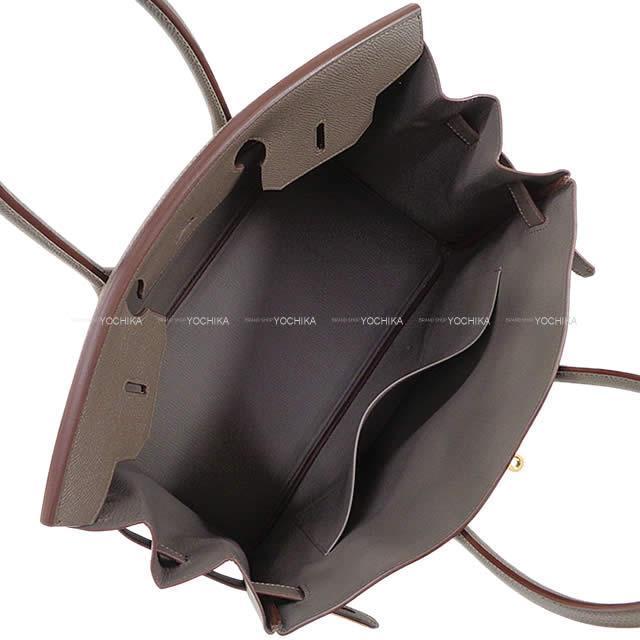 HERMES エルメス ハンドバッグ バーキン35 エタン エプソン ゴールド金具 新品未使用