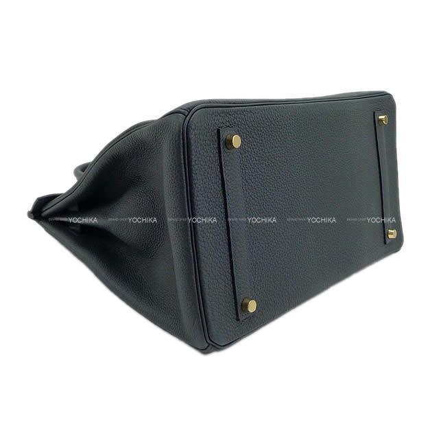 HERMES エルメス ハンドバッグ バーキン35 ヴェールルソー トゴ ゴールド金具 新品