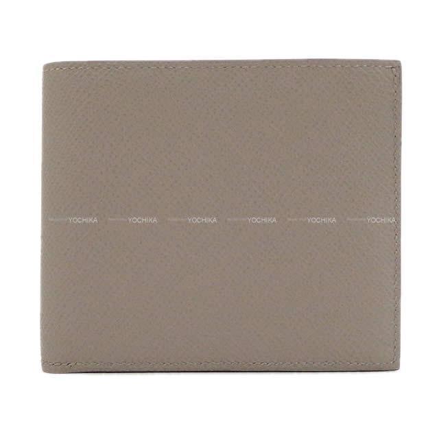 HERMES エルメス メンズ 二つ折 コンパクト財布 MC2 コペルニクス グリアスファルト エプソン 新品未使用