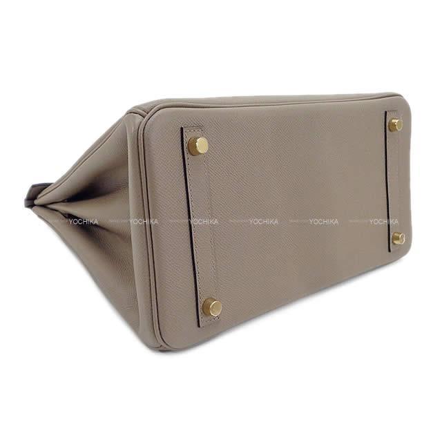 HERMES エルメス ハンドバッグ バーキン30 グリアスファルト エプソン ゴールド金具 展示新品