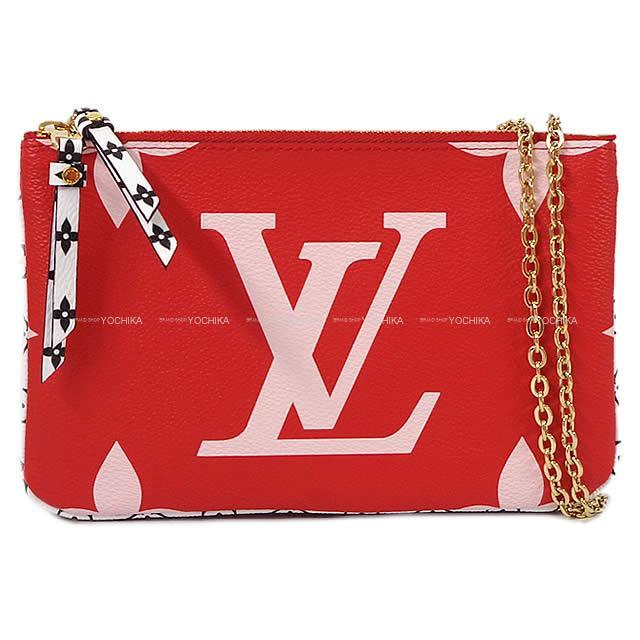 LOUIS VUITTON ルイ・ヴィトン チェーンショルダー ウォレット バッグ ''ポシェット ドゥ―ブルジップ''